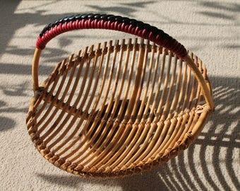Vintage 1950's Fruit Basket