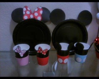 Mickey & Minnie Mouse paper cup