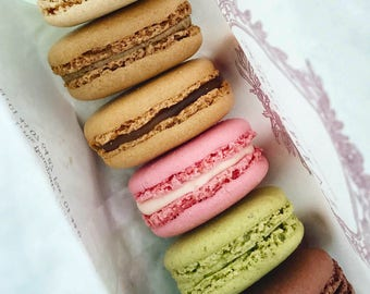 Macaroons, Paris, Macaroon Photo, Food Photography, Cafe Wall Art, Pastel, France, French Food, Sweets, Bakery, Pretty, Cafe Decor