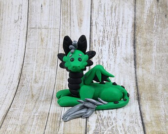 Green Dragon Figurine