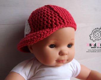 Crochet Baby baseball cap