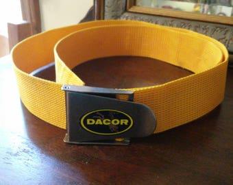 Vintage Dacor weight dive Belt