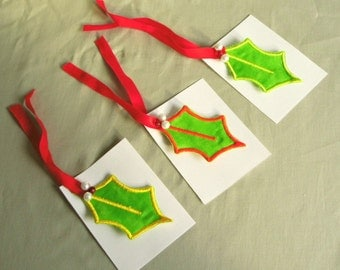 Gift tag charms star and zip pull Gift box by handpickedcurios