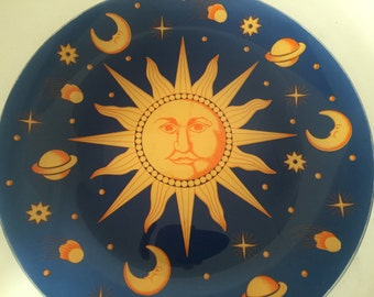 Sun, Moon and Stars Plate