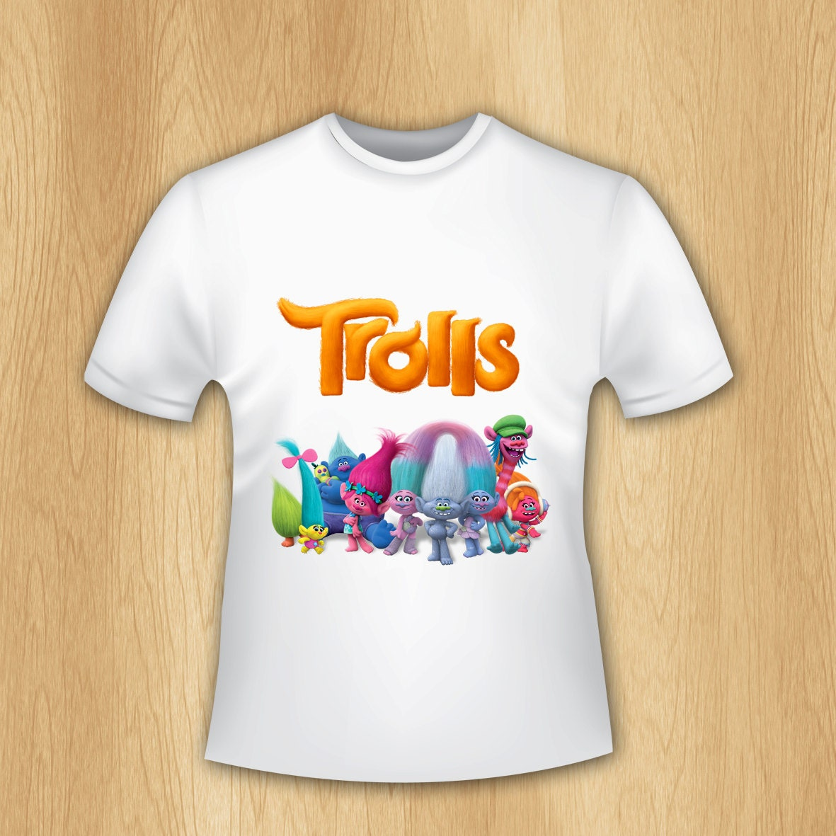 Design your own t-shirt iron on transfer - Trolls Iron On Transfer Trolls T Shirt Transfer Trolls Printable Iron On Trolls T Shirt Iron On Transfer Personalized Only File