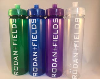 Rodan and Fields Water Bottle Assorted Colors , R+ F, 24 oz BPA Free Rodan Fields, PC Perks, PC Gift