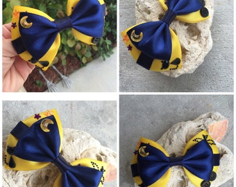 Coraline hair bow