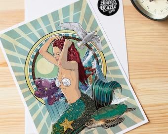 "Print ""The Little Mermaid"""