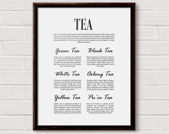 tea kitchen decor, Tea Home Decor, Tea Art, Tea Print, Tea Decor, Tea Lover Gift, Tea Poster, Tea Wall Art, Tea Sign, Tea Signs, Tea Gifts