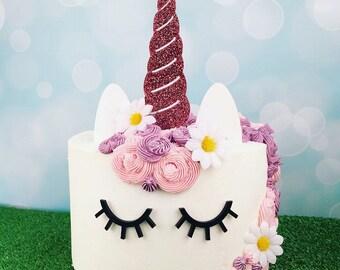 Unicorn Cake Decoration Set