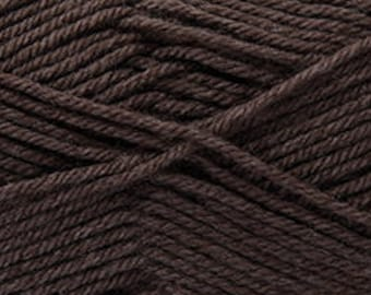 Brown yarn Rico Baby So Soft double knit DK 100g 250 m for knitting and crochet and not only baby wear colour code 023