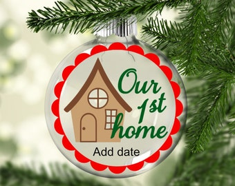 First home ornament Etsy