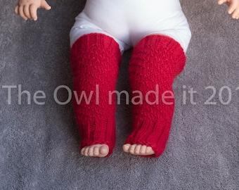 Baby leg warmers Newborn prop Alpaca leg warmers Winter leg warmers  Baby wearing winter accessories UK seller