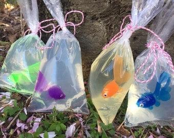 Honey Glycerine Fish In a Bag