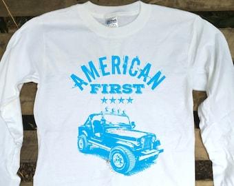 American First with Jeep CJ-7 design Item# AF2016H-84CJ7