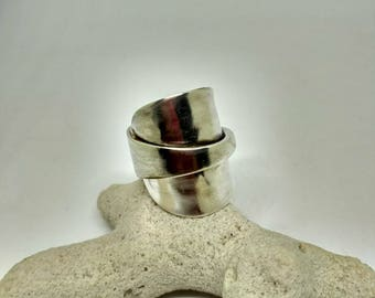 Silver Spoon Ring S004