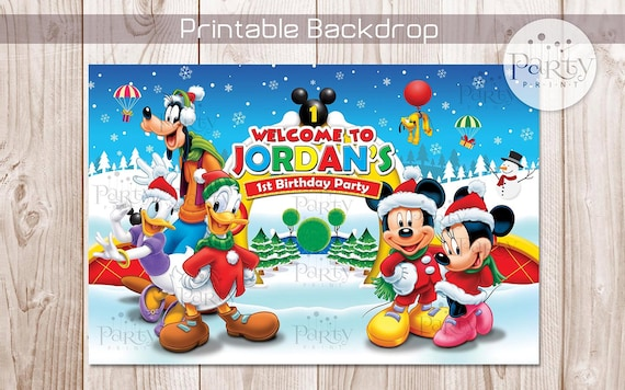 il_570xn - Mickey Mouse Clubhouse Christmas