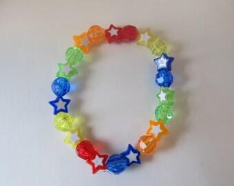 Star Beaded Stretch Bracelet, Birthday Gifts, Gifts for girls, Gifts for her, Gifts for kids, Star Bracelet, Beaded Bracelet