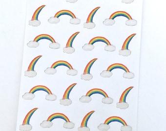 Rainbow Deco Stickers