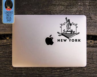 City of New York Statue of Liberty Macbook / Laptop Vinyl Decal