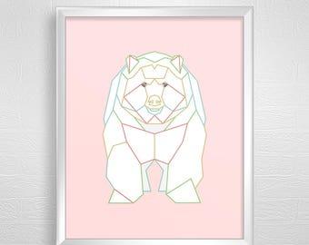 Animals digital download,animals art illustration,animals digital illustration,animals art decor,animals art printable,animals art poster