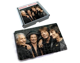 Rolling Stones Jigsaw in Box - 120 Pieces