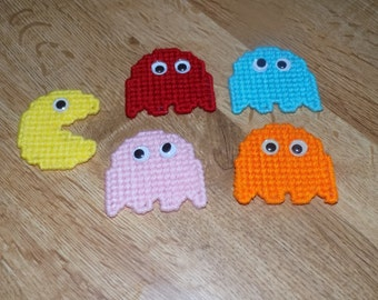 pac-man, ghosts magnets