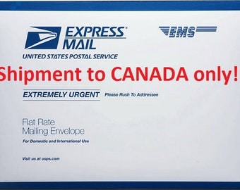 Discounted Upgrade - USPS Priority EXPRESS International, for CANADA only: 3-5 business days