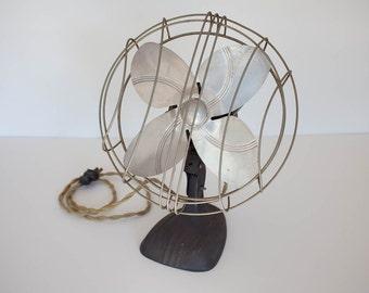 Vintage Cast Iron Electric Fan