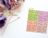 You are Free -- Faux Glitter Headers -- Matte Planner Stickers