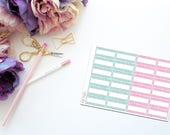 June Faux Glitter Mini Marquee -- Matte Planner Stickers