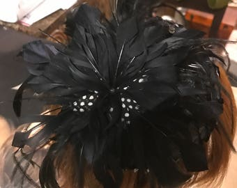 1990's Fascinator with Feathers