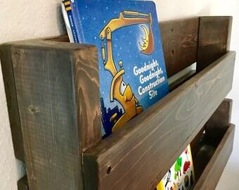 Custom, Handmade, Kids Bookshelf, Rustic Bookshelves