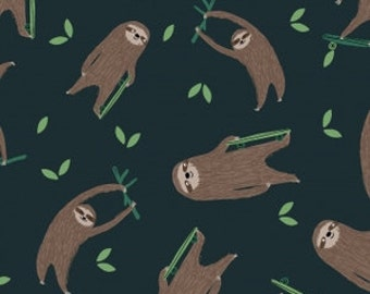 sloth flannel crib bedding, sloth changing pad cover, sloth crib sheet, sloth baby bedding, flannel toddler bedding, sloth cot sheet