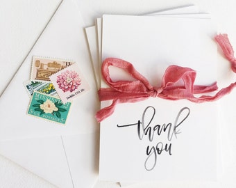Thank You Card Set, Thank You Cards, Note Cards
