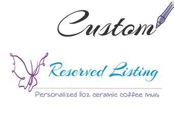 Custom Coffee Mug, Pet Coffee Mugs, Message Tea Cup, Coffee Cup, Ceramic Sublimated Mug, Photo coffee mug, Personalized Coffee Cup