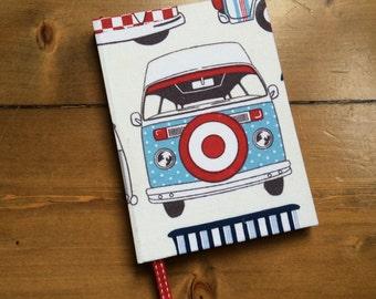 Small Handmade Campervan Notebook