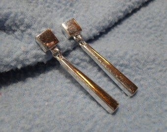 Napier Silver Earrings~ Pierced Style