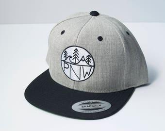 Pacific Northwest (PNW) Logo Snapback