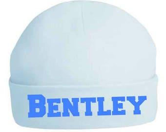 Newborn Hospital Hat, newborn hospital hat girl, baby shower gift, hospital hat boy, hospital outfit, baby hat, baby girl hat, baby boy hat