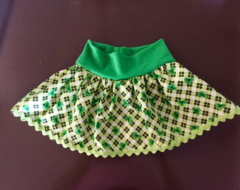 St Patrick's Day holiday skirt