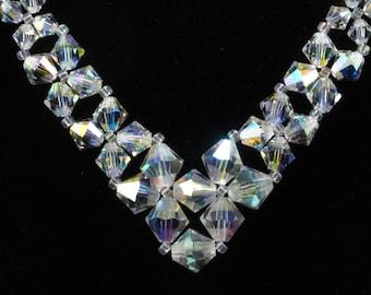 Swarovski 'V' Necklace