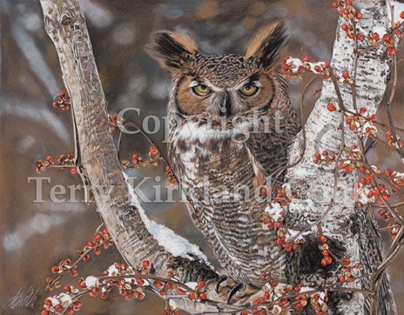 "Fine Art Giclee Print ""Wisdom"" by Terry Kirkland Cook on Fine Art Paper or Canvas"