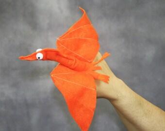 Dinosaur Pterodactyl Finger Puppet - Dinosaur Toy