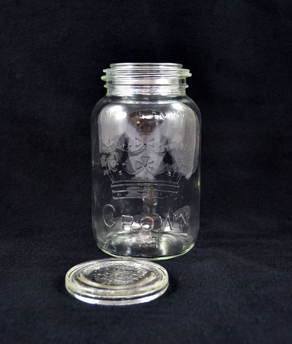 Crown canning jars dating