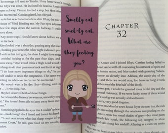 Smelly Cat Bookmark