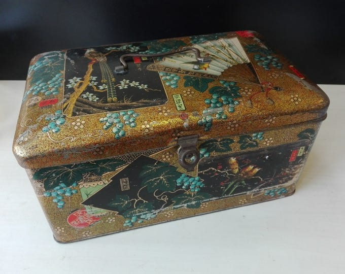 Wed j. Bekkers & zoon - Dordrecht, old tin, japanese and or Chinese styling