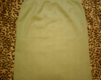 Vintage Lime Green Skirt