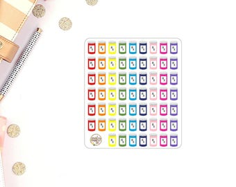 Pill Bottle RX Vitamins Planner Stickers