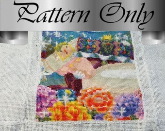 Cross Stitch Pattern - Katamari King and Queen of Cosmos